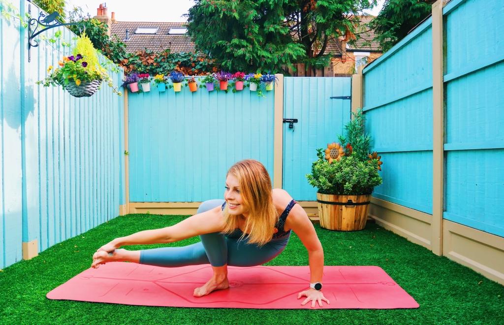 baby grasshopper yoga arm balance how to tutorial