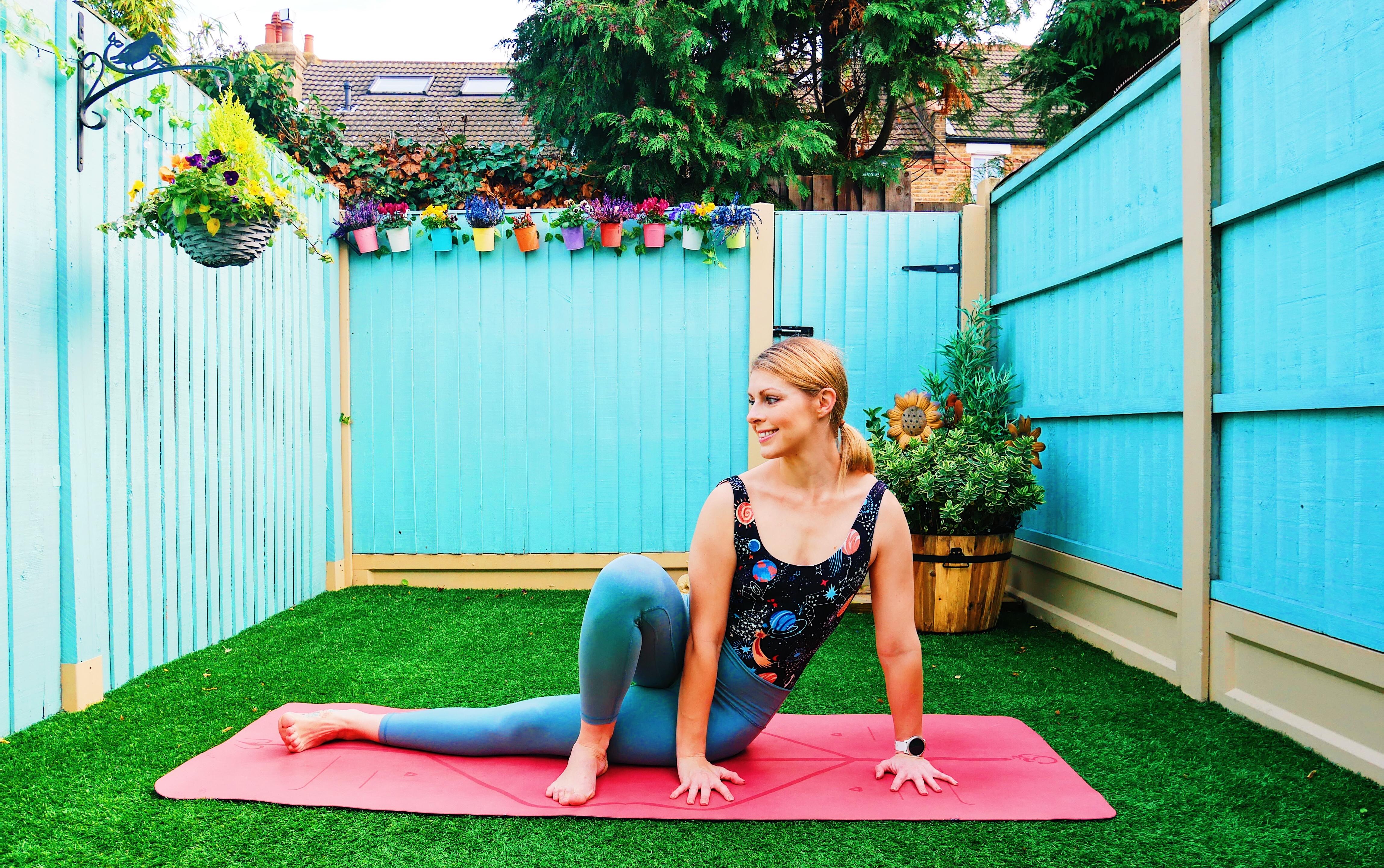Yoga baby grasshopper arm balance how to tutorial