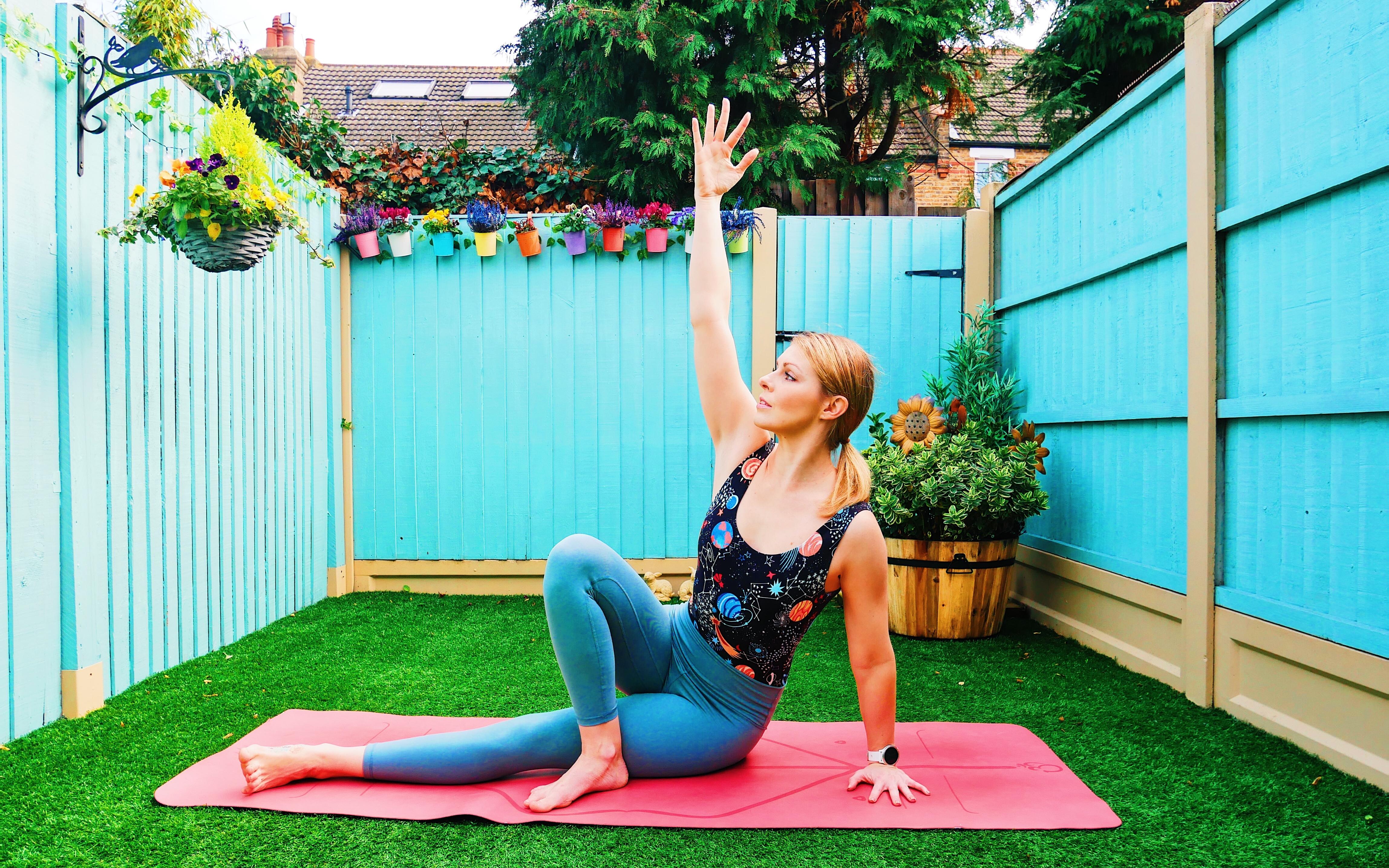 Yoga arm balance baby grasshopper how to tutorial