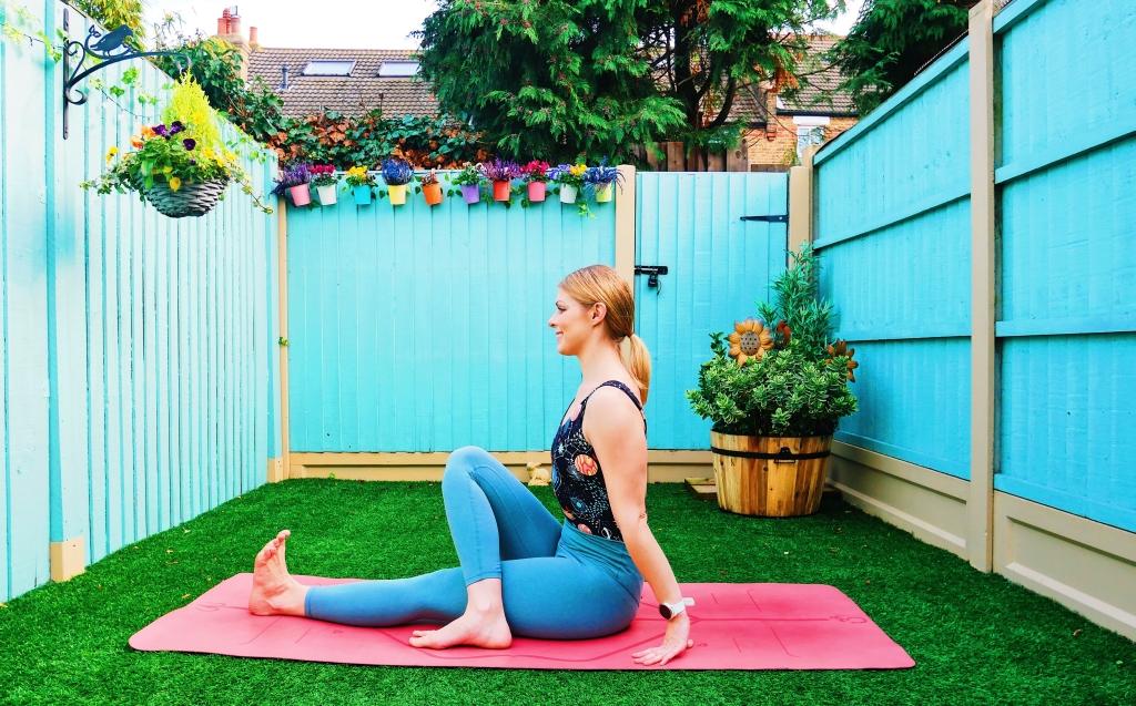 Yoga pose how to tutorial baby grasshopper arm balance