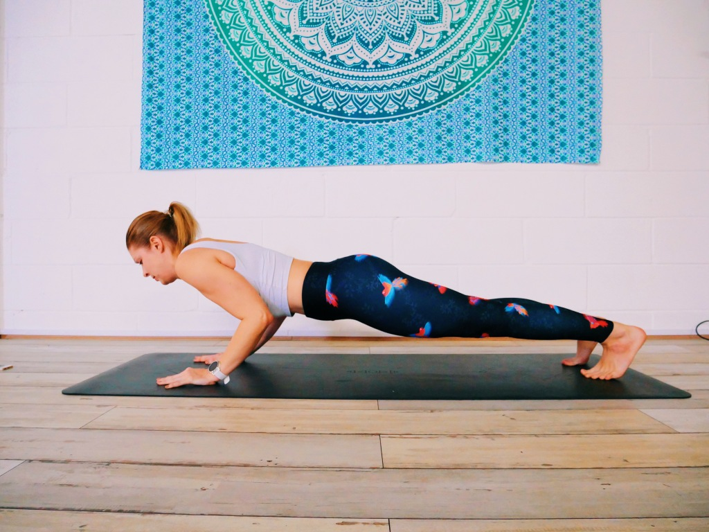 Chaturanga error arms not at right angles not moving forwards yoga